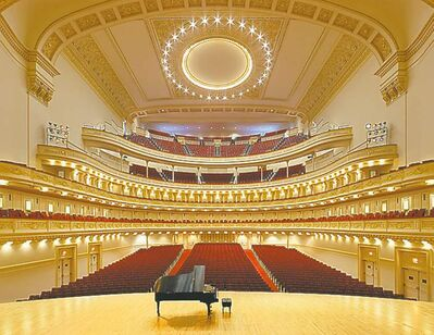 WSO will perform at Carnegie Hall (above) on May 8.