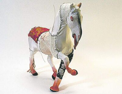 Diana Thorneycroft�s Horse With Red Eyes.
