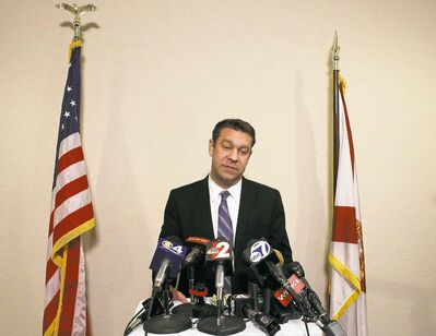 Scott McIntyre / Naples Daily News / The Associated PressRepublican Rep. Trey Radel told reporters Wednesday it was only a matter of time before his substance-abuse issues caught up with him.