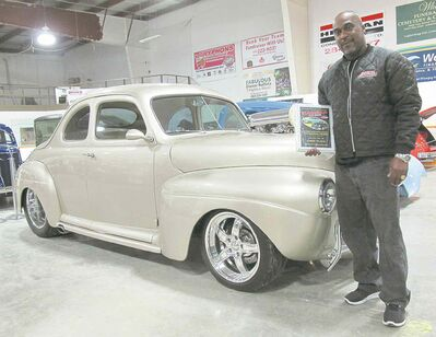 Best-of-show honours went to Julius Eugene for his stunning 1941 Ford Coupe.  The car was masterfully recreated by SanDale Fabrication.