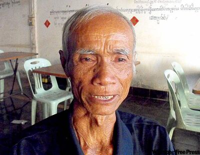 Submitted photo Sorpong Peou's father, Nam Peou. The family thought Nam Peou had been killed.