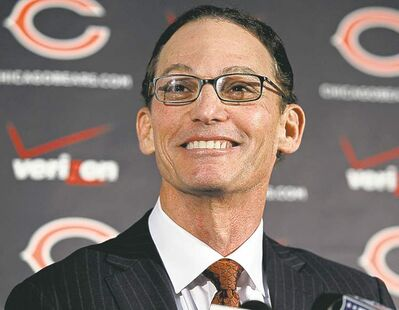 Marc Trestman has the Canadian label going against him, says Brown.