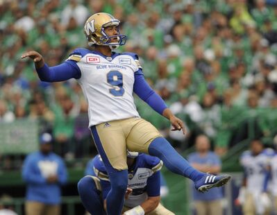 MARK TAYLOR / CANADIAN PRESS ARCHIVES</p><p>Justin Medlock booted seven field goals on eight attempts, including a 42-yarder with no time left on the game clock to secure the club's first Classic win since 2004.</p>