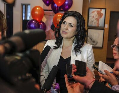 BORIS MINKEVICH / WINNIPEG FREE PRESS FILES</p><p>Citing health reasons, Michelle McHale has dropped out of the NDP leadership race.</p>