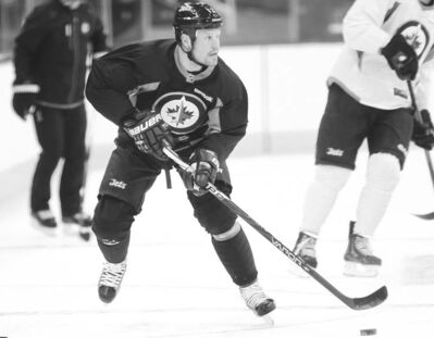 Phil Hossack / Winnipeg Free PressFree agent pickup Olli Jokinen should eat up minutes, provide leadership and put up points as a top Jets centre.