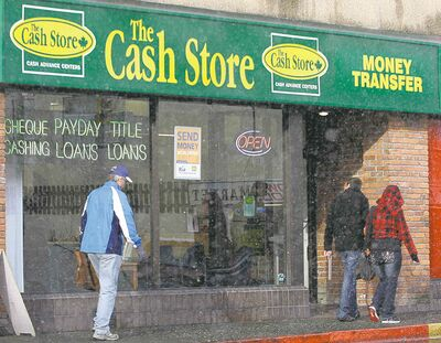 Payday lenders are once again in the crosshairs of the Manitoba NDP.