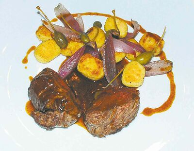 Read's Hotel's filet of beef.