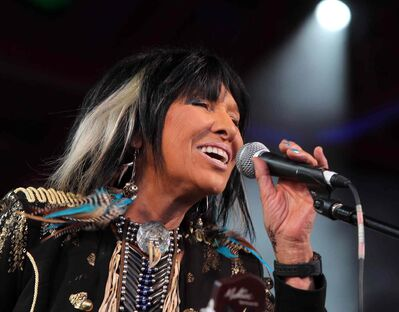 Legendary Canadian-American Cree singer/songwriter Buffy Sainte-Marie is set to perform Tuesday night at Winnipeg's West End Cultural Centre.