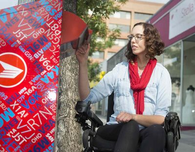Jesse Turner worries Canada Post will ignore people with disabilities that aren't very obvious, one of many concerns expressed about the corporation's queries.