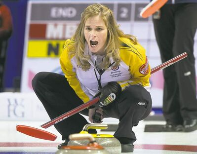 ryan remiorz / the canadian pressManitoba skip Jennifer Jones remains one of three undefeated rinks at the Scotties after a pair of decisive wins Monday.