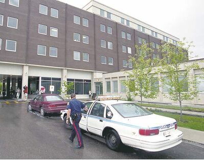 Colleagues at the Grace Hospital watched in shock as Stephen Underwood stabbed Bill Larson to death.