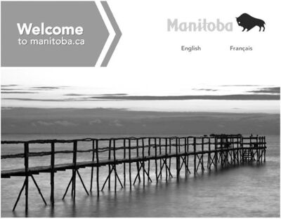 Poplar piers are so iconic that the province features one on its website.