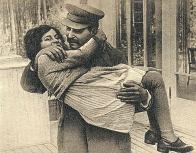 Josef Stalin spoiled his daughter, and attempted to shelter her from the Holodomor,  the Great Terror and the Second World War.
