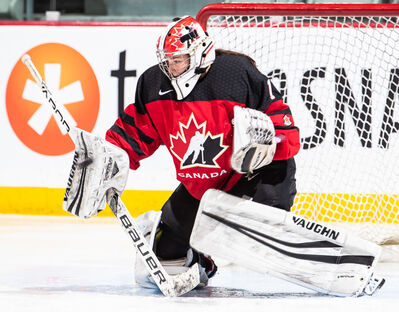 Ste. Anne's Raygan Kirk made 25 saves in net for Team Canada as Canada defeated the USA 3-2 in overtime in the gold medal game early this morning at the U18 IIHF World Women's Hockey Championship in Japan..