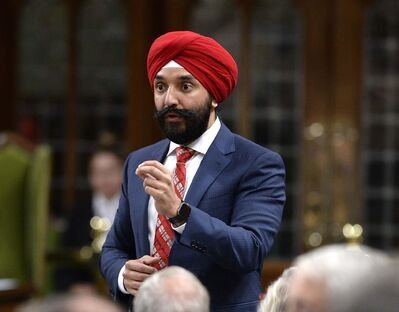 THE CANADIAN PRESS/Justin Tang</p><p>Canadian Minister of Innovation, Science and Economic Development Navdeep Bains will be in Winnipeg Wednesday to announce a federal government pledge for $10 million to Manitoba&rsquo;s aerospace sector.</p>