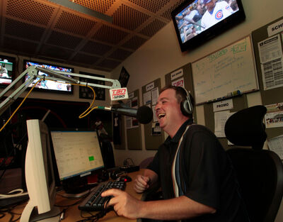 "Andrew ""The Hustler"" Paterson was one of the on-air hosts fired today at TSN 1290. (Wayne Glowacki / Winnipeg Free Press files)"