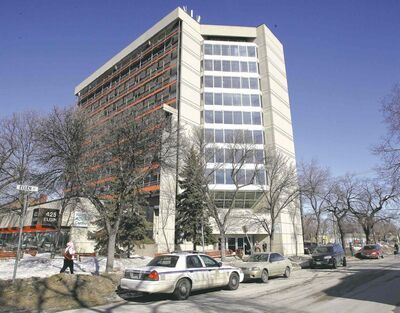 John David Goundry, 51, was found dead in his suite on Elgin Avenue on Tuesday.