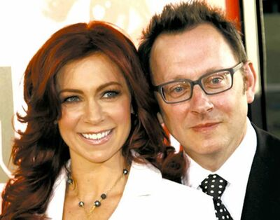 Carrie Preston, left, and Michael Emerson.