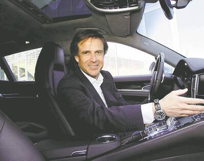 Michael Mauer was named chief designer at the Porsche Design Studio in 2004.