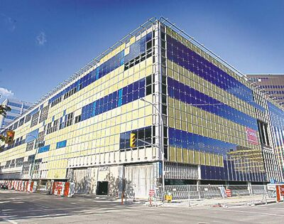 BORIS MINKEVICH / WINNIPEG FREE PRESSThe old Canada Post building will be the new police station.