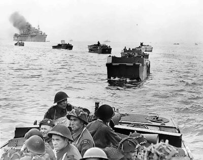 Landing on Juno Beach, The Royal Winnipeg Rifles were an integral part of Operation Neptune, the largest seaborne invasion in history. D Day 1944.