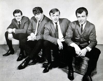 A four-man incarnation of the D-Drifters: Mike Klym (from left), Tony Roman, Yogi Klos and Dave Roman.