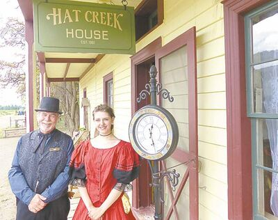 Animators help bring cowboy history alive at the Hat Creek Ranch.