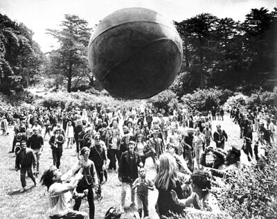 The baby boomers in a more optimistic time: San Francisco, 1967.