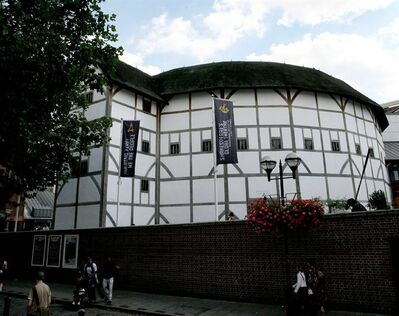 "FILE - An Aug. 1, 2007, photo from files showing a general view of The Globe Theatre, central London. Shakespeare's Globe theater is about to take the Bard's words literally — ""All the world's a stage."" The London theater says it plans to tour a production of ""Hamlet"" to every country in the world, 205 nations in all. The small-scale production, performed by a cast of eight, will tour the world between April 2014 and April 23, 2016 — the 400th anniversary of Shakespeare's death. (AP Photo/PA, Stephen Kelly, File) UNITED KINGDOM OUT NO SALES NO ARCHIVE"