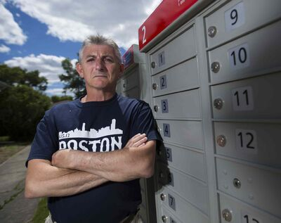 Wayne Roseberry says some people using this community mailbox near his house are littering and ruining the grass.