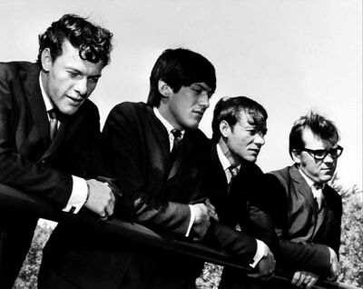 The Eternals, (left to right) Harry Hildebrand, Ted Paley, John Hildebrand and Ron Paley.