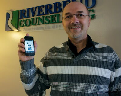 Gerry Goertzen of Riverbend Counselling has developed an app called Velvet Steel to help users navigate social situations.