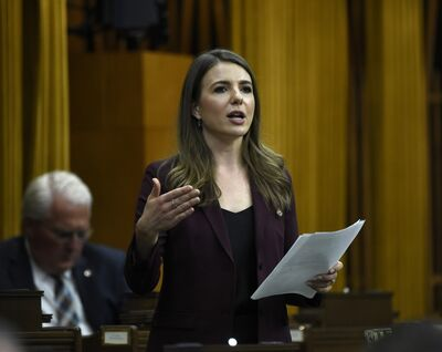 Women have been laid off and have lost work at a higher rate than men, says Conservative MP Raquel Dancho (Kildonan-St. Paul). (Justin Tang / The Canadian Press files)