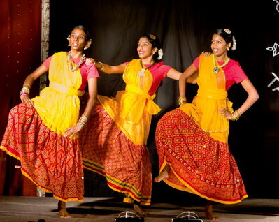 Dancers perform at a previous Tamil pavilion. This year's pavilion will run Aug. 11 to 17 at the Burton Cummings Community Centre at 960 Arlington St.