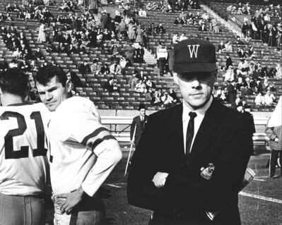 winnipeg free press archivesBombers coach Bud Grant (right) and quarterback Kenny Ploen at the 1962 Grey Cup.