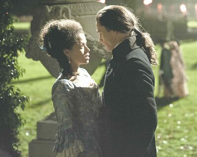 Gugu Mbatha-Raw stars in Belle, a fact-based drama that opens May 16 at the Globe.