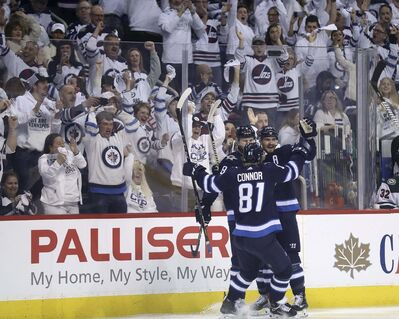 TREVOR HAGAN / WINNIPEG FREE PRESSThe playoff series between the Winnipeg Jets and Nashville Predators pits the league's Top 2 teams against each other in the second round. Really?</p>