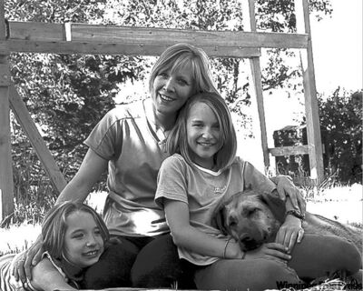 submitted photoSamantha (left) and Ally Dunn with mom, Veronica.