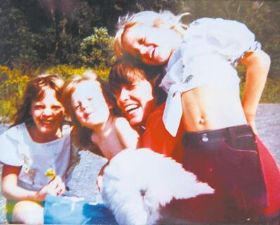 Nicole, Tara and Krystal  as children, with their mother, Audrey, who died of colon cancer. The sisters say it was hope, and each other, that got them through their ordeals.