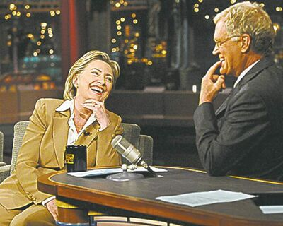 Below, Hillary Clinton showed up to defend herself in 2000.