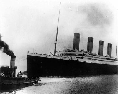 """The British liner Titanic sails out of Southampton, England, at the start of its doomed voyage on April 10, 1912. More than a century after the Titanic was swallowed by frigid waters, Nova Scotians gathered in Halifax to remember the lives lost during the ship's fateful maiden voyage. Some 1,500 passengers and crew members died on April 15, 1912, when the so-called """"unsinkable ship"""" struck an iceberg and went down in the North Atlantic, south of the Grand Banks of Newfoundland. One hundred fifty of those victims were laid to rest in Halifax. THE CANADIAN PRESS/AP"""