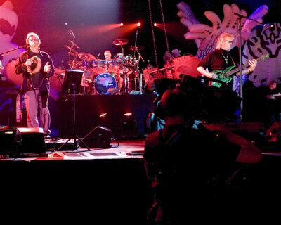 British rock band Yes will perform three of its albums in their entirety when it plays Winnipeg.
