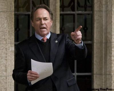 NDP MP for Winnipeg Centre Pat Martin, seen in this file photo, has the Twitterverse aflutter after a few F-bombs were dropped on his Twitter account.