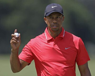 It now appears Tiger Woods wasn't fibbing after all.