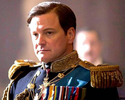 Oscar front-runner: The King's Speech was nominated for 12 awards, including best picture, director and actor, Colin Firth.