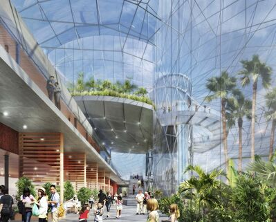 supplied</p><p>The Butterfly House will be designed to give visitors to the Leaf the impression they are soaring above the rest of the building.</p>