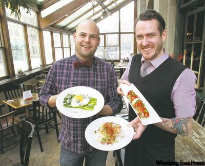 Deseo Bistro co-owners Alejandro Mora, left, and chef Scott Bagshaw.