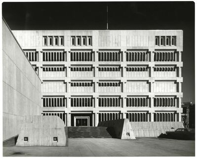 Henry Kalen / University of Manitoba Archives & Special Collections</p><p>The Public Safety Building, which opened in 1966, featured a Brutalist design. The fortress-like appearance was directly related to the building's function as a jail and police headquaters.</p></p></p></p>