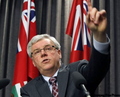Greg Selinger is now showing his maturity as a leader and he's seen as being comfortable on the job.