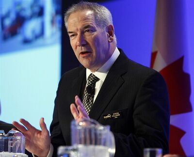 Steve Williams, CEO of Suncor Energy, in Calgary, May 1, 2012.THE CANADIAN PRESS/Jeff McIntosh